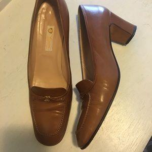 Gucci Logo Vintage 1970s Heels